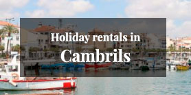 Holiday rentals in Cambrils