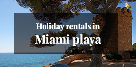 Holiday rentals in Miami Playa